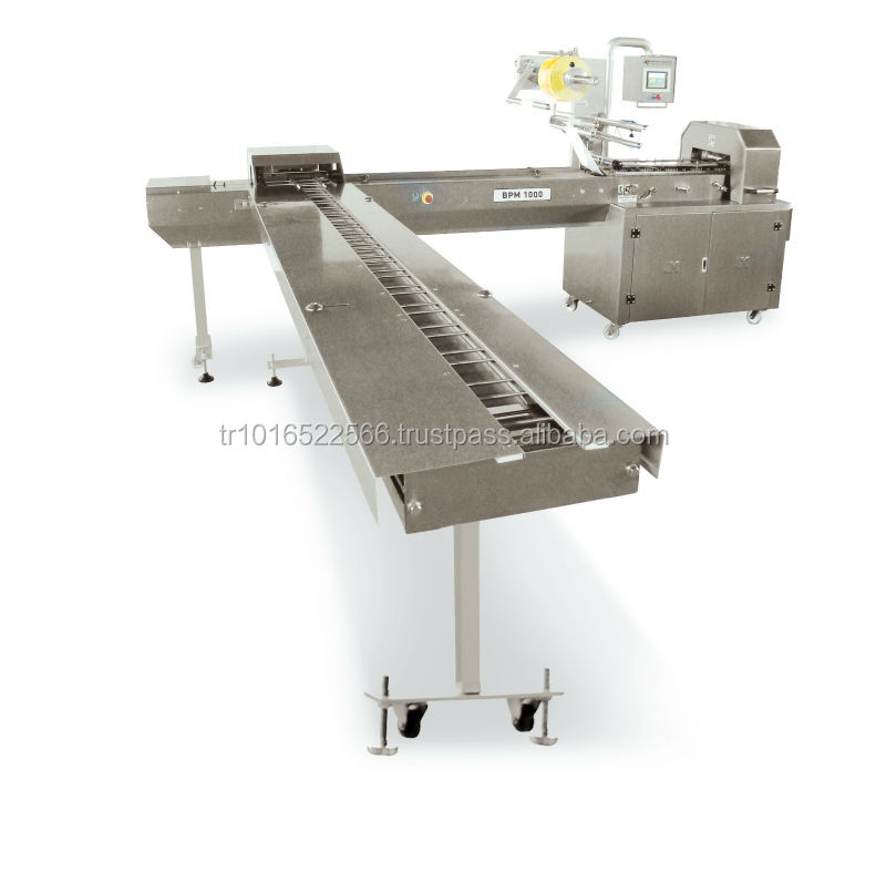 Biscuit Packaging Machine on edge