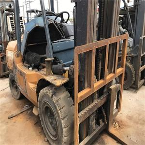 Japan original used forklift toyota 5 ton diesel Pallet Truck for sale at low price