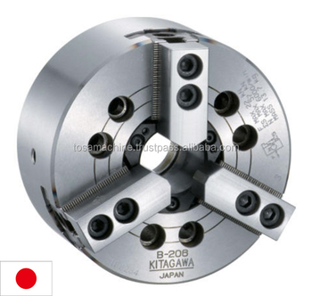 Popular series KitagawaLarge through-hole high-speed power chuck B-200 series