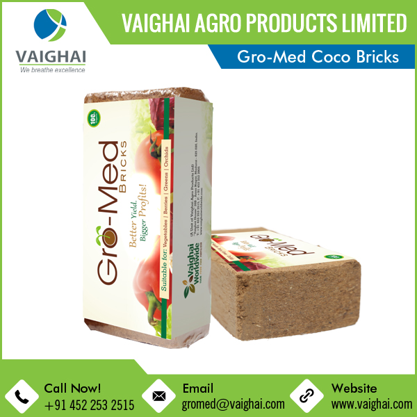 Buy from Alibaba Gols Supplier Best Coco Coir Peat Coconut Coir Bricks