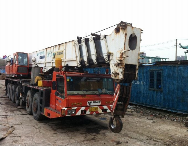Used crane TADANO 150 ton, TG1500, Original from Japan, good condition