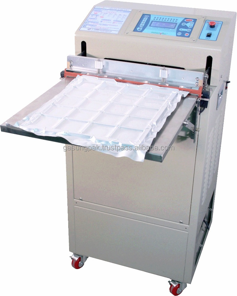 Standing Nozzle type Vacuum Sealer with Gas flushing / Multiple function