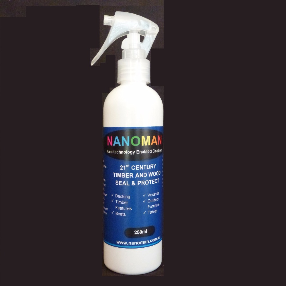 Nano Water Repelling Coating for Timber and Wood