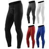 custom Men Sport Gym Compression Wear Under Base Layer Shorts Long Pants Athletic Tight