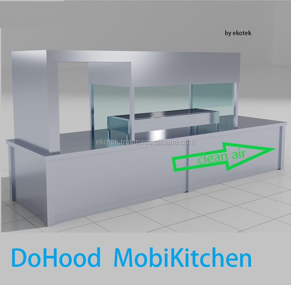Mobile Kitchen With Electrostatic Air Cleaner - Buy Mobile Kitchen ...