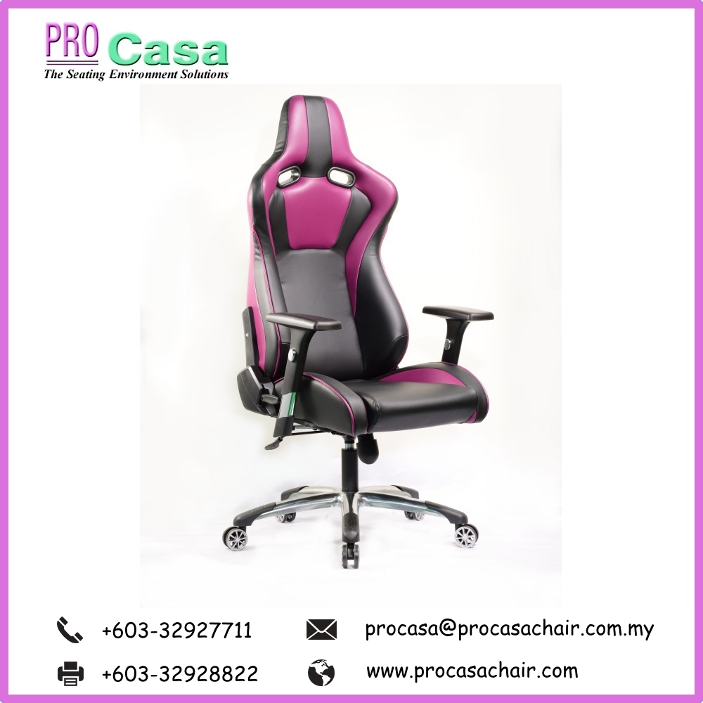 High Back Computer Video Game Chair PRO G-VP-P Pc Gaming Office Chair