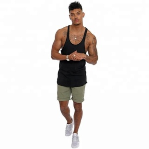 Custom muscle tank top wholesale running singlet for gym wear mens vest