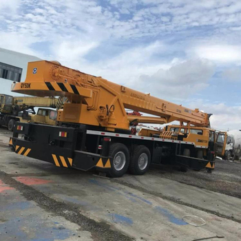 Second hand XCMG QY50K 50 ton mobile crane factory price for sale
