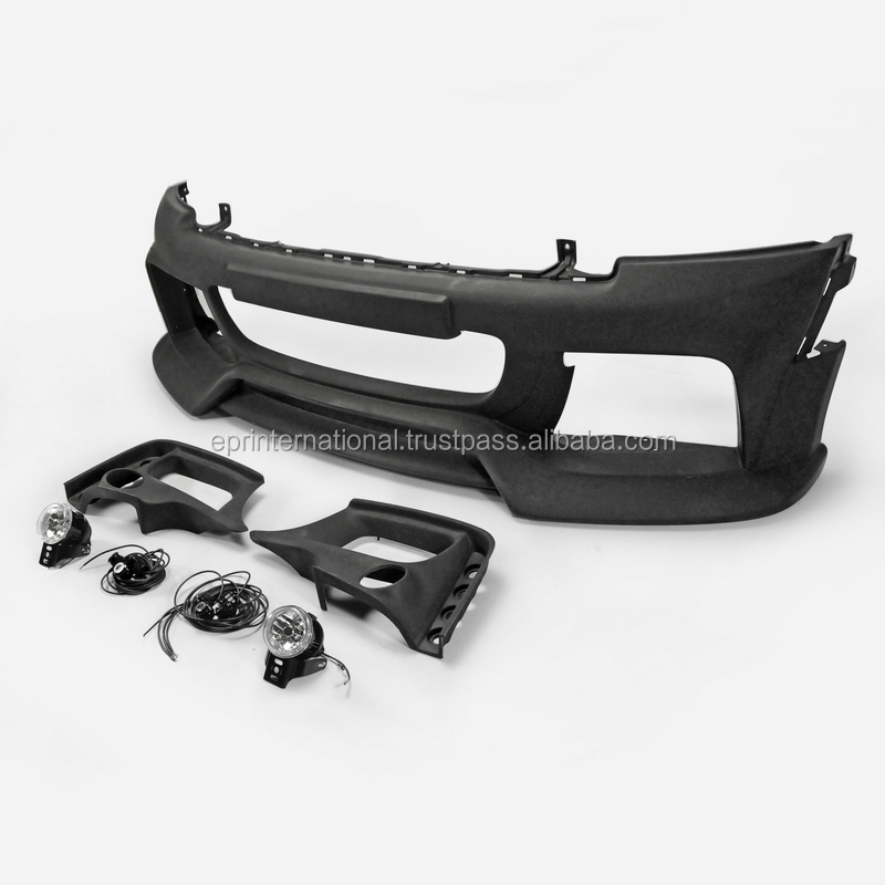 For Mini cooper R56 Ver.2.112.12 AG-Style Front bumper with fog light covers, LED & Round Fog Light FRP