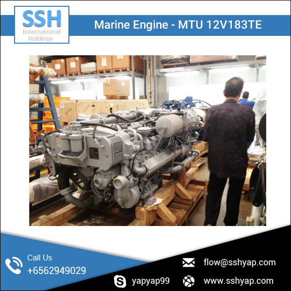 Heavy Duty Marine Diesel Engine for Ferries and Vessels