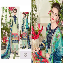 lawn cotton pakistani dress design salwar kameez suit 2017