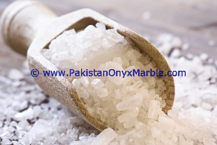 COOKING TABLE SALT HIMALAYAN WHITE GRANULATED SALT