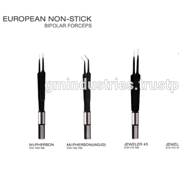 Bayonet European Bipolar Forceps, Electrosurgery Forceps Bipolar Surgical Tools, Other Bipolar Forceps and Electrodes by GMI