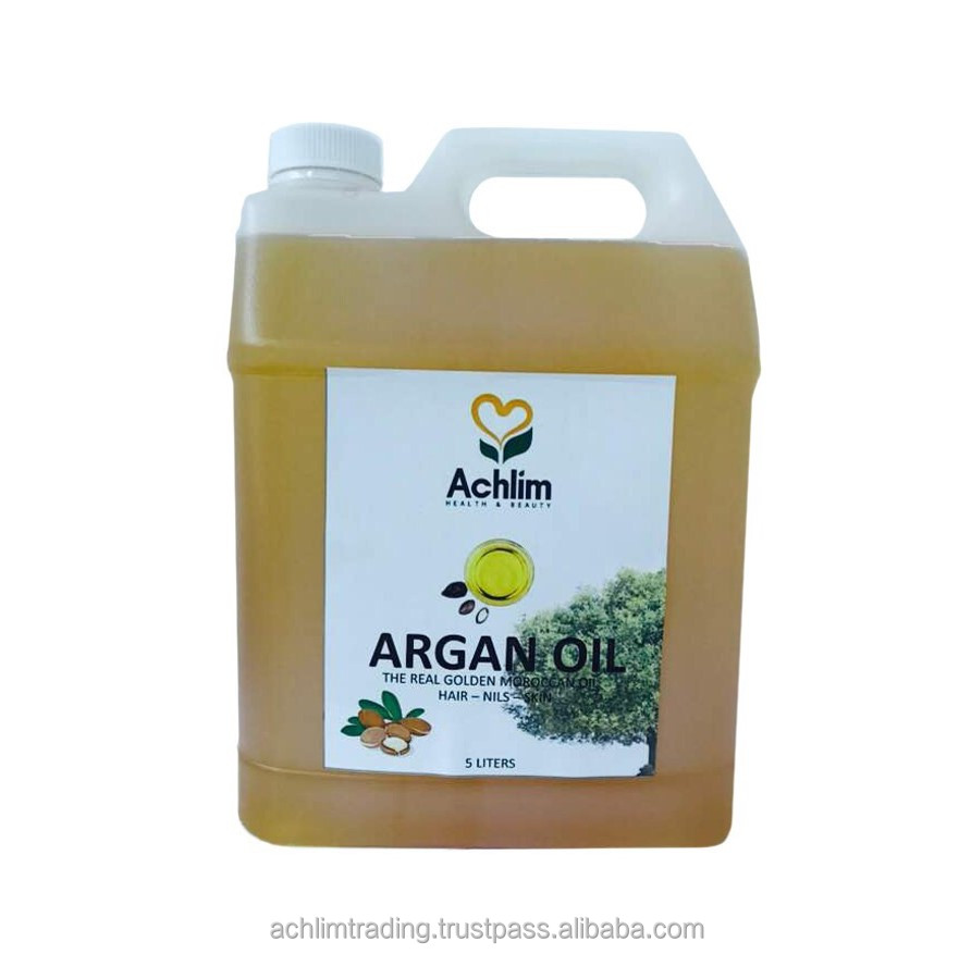 Organic Argan Oil called Pressed Original Morocco cosmetic face hair 100% pure in bulk