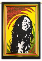 Bob Marley One Love Wall Decor Wall Hanging One Love Bob Marley Tapestry Bob Marley Fabric Poster