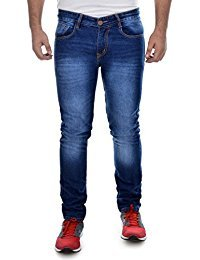 Cut and sew men jeans