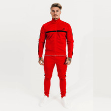 Red with black Panels Men tracksuit manufacture by Hawk Eye Co. ( PayPal Accepted )
