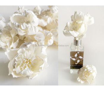 Peony sola flower for reed diffuser home fragrance .