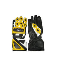 Cowhide Leather Motorbike Gloves Guaranteed comfort Water Proof Racing Track Sports