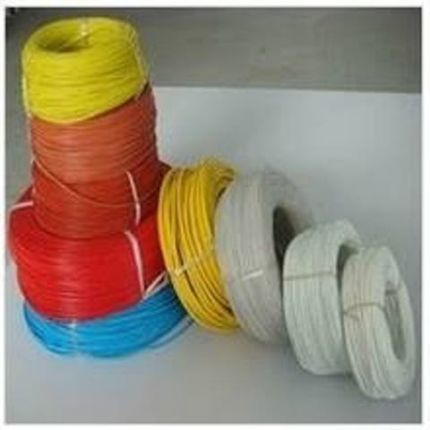 Colorful cotton twisted cord textile twisted cable electric copper wire fabric