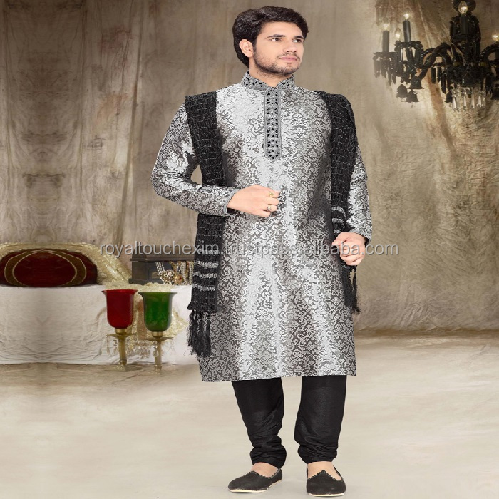 indian white kurta designs for men for stitching SHERWANI