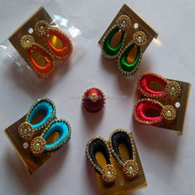 Export Quality Silk Thread Earrings, Jhumka Festive Collection India