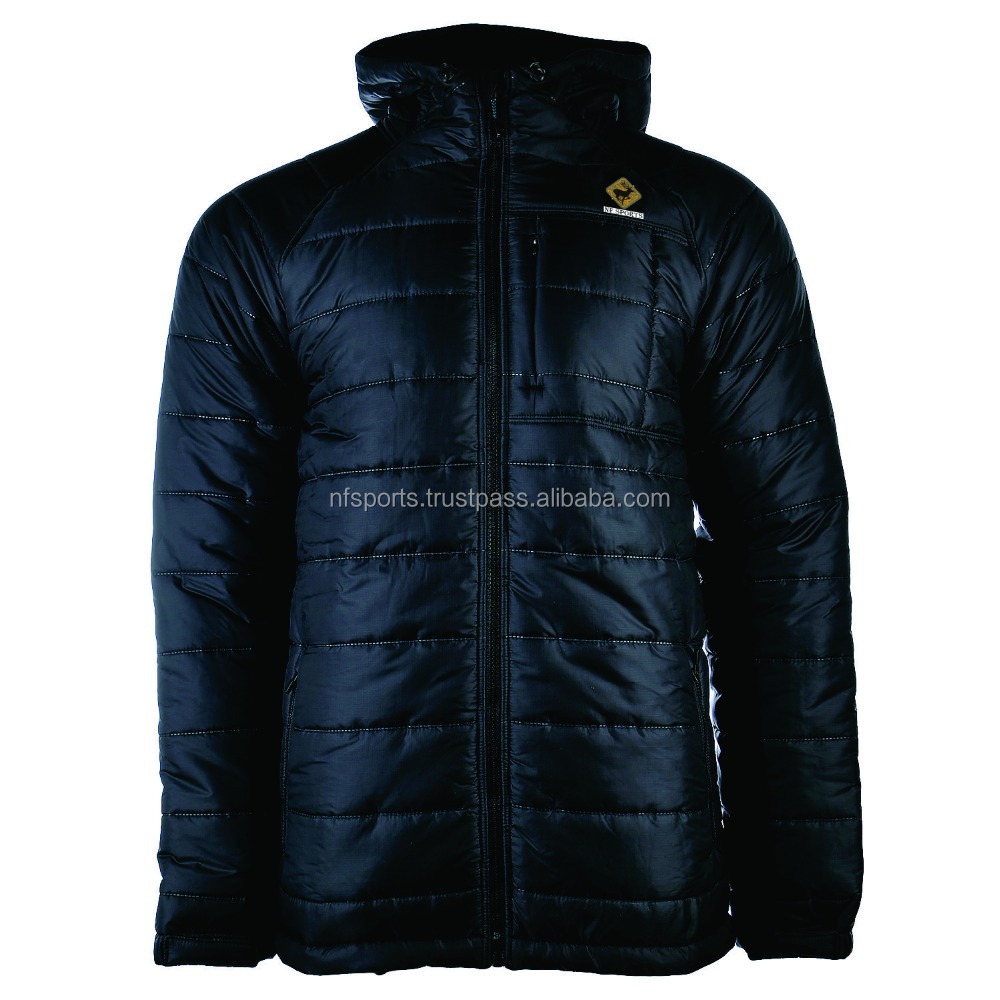 Men's Pack able Flannel Goose Down Puffy Jacket For men/wholesale down jacket
