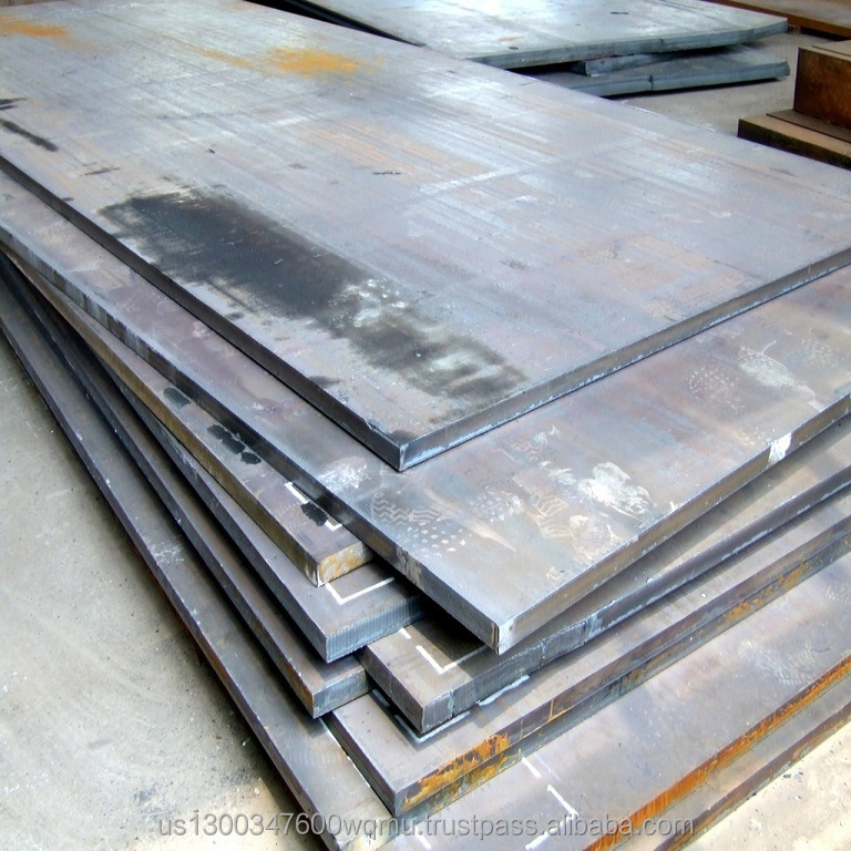 AR400 6mm, 4' x 8' Steel Sheets, Formable Abrasion Resistant Plate