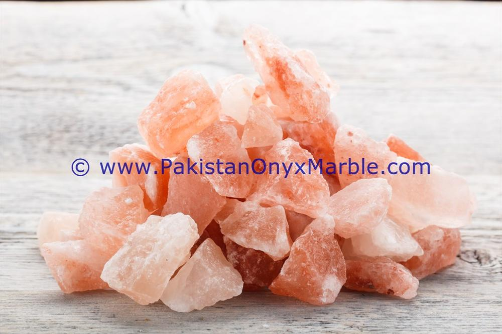 Pakistan Pure Quality Natural himalayan rock crystal salt pink chunks