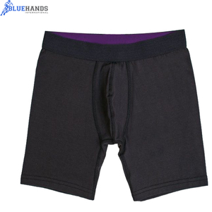 Solid Color Boxer and Briefs Underwear