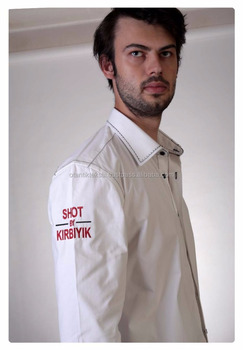 White, Kirbiyik Special Design, Dress shirt Slim fit shirt, slim-fit shirt, Dress shirt, Shirt, men shirt,