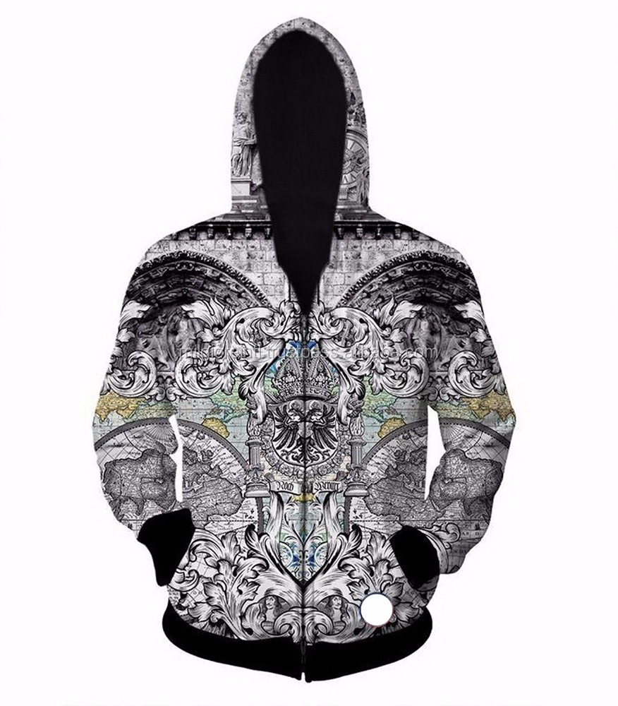 Wholesale 65% Polyester 35% Cotton men different kinds of hoodies sublimated