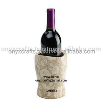 Oceanic Marble Wine Bottle Coaster