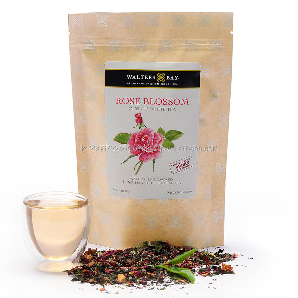 Pure Ceylon White Tea - Rose Blossom from Sri Lanka