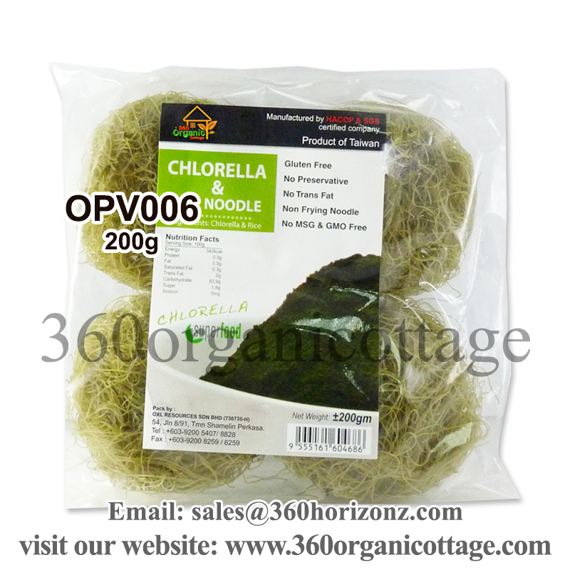 200g 360 Organic Cottage Chlorella Rice Noodle