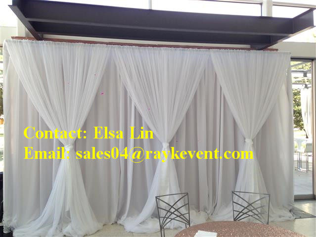 pipe and drape kits wedding back drop led backdrop used pipe and drape for sale