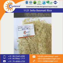 Indian Long Grain 1121 Sella Basmati Rice Available for Bulk Sale at Low Price