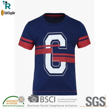 logo customized 2018 kids tshirt boys tess children t-shirt from Bangladesh