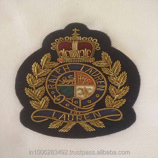 Badges & Emblems Hand Embroidered