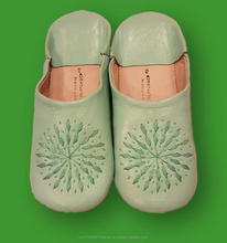 Moroccan Babouche Genuine Leather shoes slippers