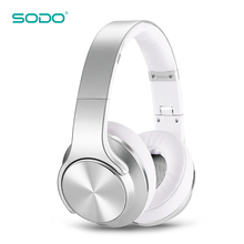 SODO MH5 Customize Logo Flip to Powerful Speaker Wireless Bluetooth Headphone
