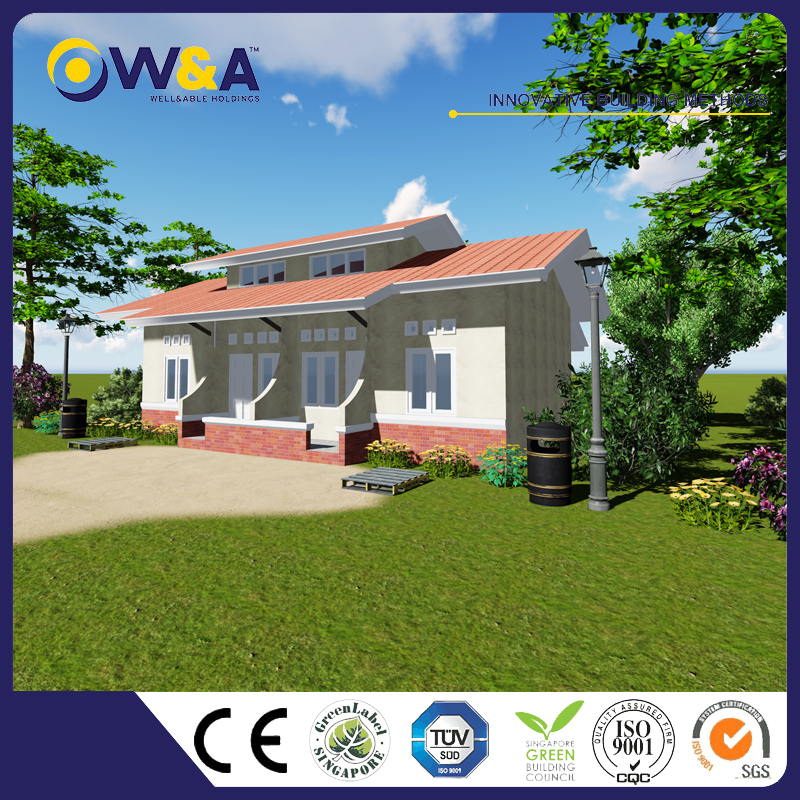 (WAS1008-46D)Cheap Fire Resistance Prefab Houses Made In China Manufacturer