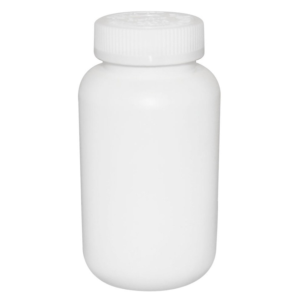 Mega Vials White 150cc - 100/Box