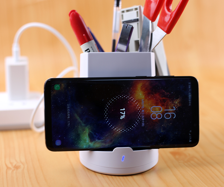 QI fast wireless charger 10W fast charger power cup UUTEK RS-WP001