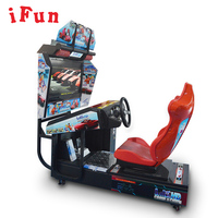 Ifun Factory coin operated car racing simulator arcade game machine HD Outrun