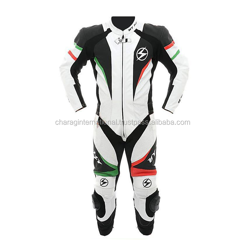 Customized Leather motorcycle race suits