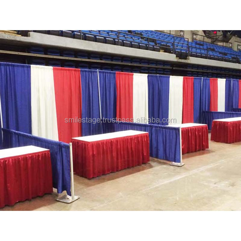 2018 fabric backdrops for wedding photo booth used pipe and drape