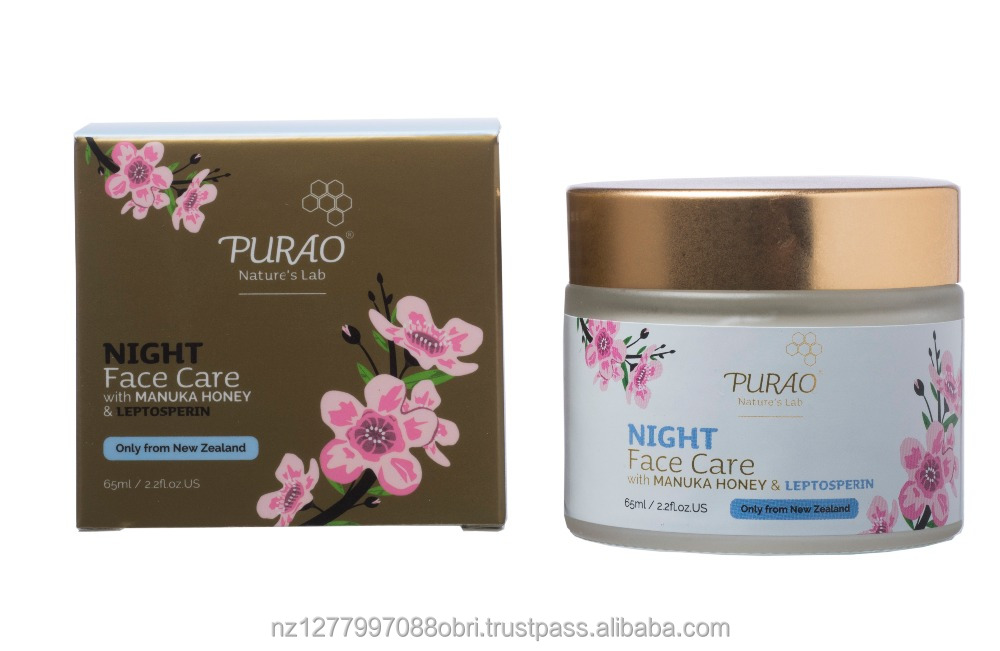 NATURAL NIGHT MOISTURISING CREAM
