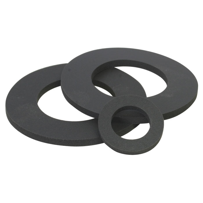 Die-Cut (Lathe-cut) Rubber Gasket