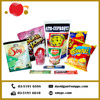 Custom Made Stand Up Plastic Pouch Bag Food Packaging